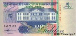 5 Gulden SURINAM  1991 P.136a NEUF