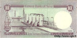 10 Pounds SYRIE  1978 P.101b NEUF
