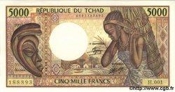5000 Francs TCHAD  1984 P.11 NEUF