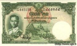 20 Baht THAÏLANDE  1953 P.077d pr.NEUF