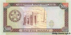 500 Manat TURKMÉNISTAN  1995 P.07b NEUF