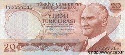 20 Lira TURQUIE  1970 P.187b NEUF
