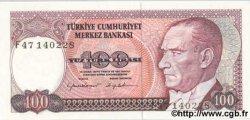 100 Lira TURQUIE  1984 P.194a NEUF