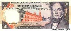 50 Bolivares VENEZUELA  1992 P.072 NEUF