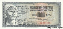 1000 Dinara YOUGOSLAVIE  1981 P.092d NEUF