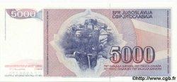 5000 Dinara YOUGOSLAVIE  1985 P.093b NEUF