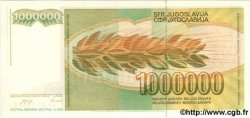 1000000 Dinara YOUGOSLAVIE  1989 P.099 NEUF