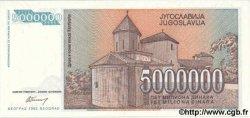 5000000 Dinara YOUGOSLAVIE  1993 P.132 NEUF
