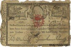 2400 Reis PORTUGAL  1798 P.-- B