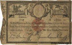 2400 Reis PORTUGAL  1798 P.-- B+