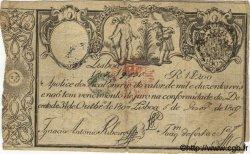 1200 Reis PORTUGAL  1807 P.033var TB