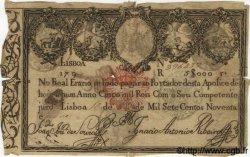 5000 Reis PORTUGAL  1799 P.-- B+