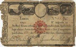 10000 Reis PORTUGAL  1797 P.-- B+