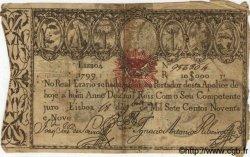 10000 Reis PORTUGAL  1799 P.041b B+