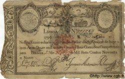 12800 Reis PORTUGAL  1799 P.044 B