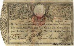 20000 Reis PORTUGAL  1798 P.047 TB