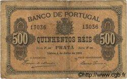 500 Reis PORTUGAL  1891 P.065 TB