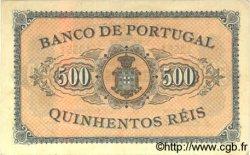 500 Reis PORTUGAL  1891 P.065 SPL