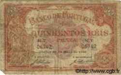 500 Reis PORTUGAL  1900 P.072 B à TB