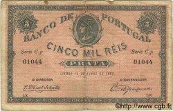 5000 Reis PORTUGAL  1892 P.070 TB