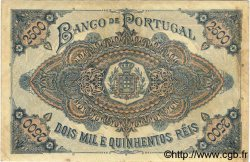 2500 Reis PORTUGAL  1893 P.074 TTB+