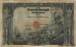 50000 Reis PORTUGAL  1910 P.085 B+