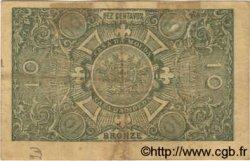 10 Centavos PORTUGAL  1917 P.093a TTB