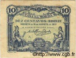 10 Centavos PORTUGAL  1917 P.095a TTB+