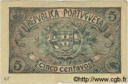 5 Centavos PORTUGAL  1918 P.098 TTB