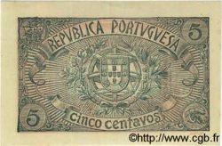 5 Centavos PORTUGAL  1918 P.098 pr.NEUF