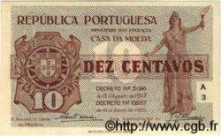 10 Centavos PORTUGAL  1925 P.101 pr.NEUF