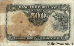 500 Reis PORTUGAL  1904 P.105a TB