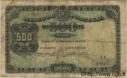 500 Reis PORTUGAL  1904 P.105a B+