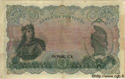 10000 Reis PORTUGAL  1910 P.108a var. TB