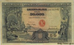 50000 Reis PORTUGAL  1910 P.110 TTB
