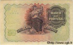 50 Centavos PORTUGAL  1918 P.112b TTB+