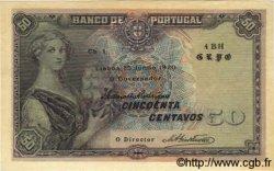 50 Centavos PORTUGAL  1920 P.112b pr.NEUF
