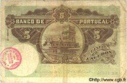 5 Escudos PORTUGAL  1918 P.114 TB+