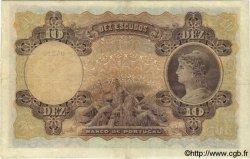 10 Escudos PORTUGAL  1920 P.117 TB+