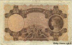 10 Escudos PORTUGAL  1920 P.117var. TB+