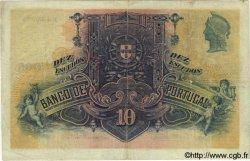 10 Escudos PORTUGAL  1920 P.121 pr.TTB