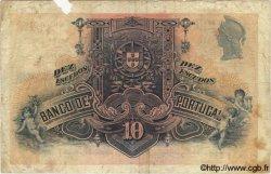 10 Escudos PORTUGAL  1926 P.121 B+