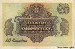 20 Escudos PORTUGAL  1921 P.122 TTB+