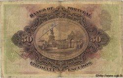 50 Escudos PORTUGAL  1920 P.123 B à TB