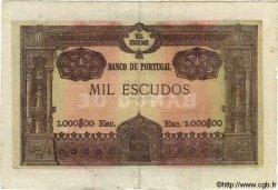 1000 Escudos PORTUGAL  1920 P.125 TTB