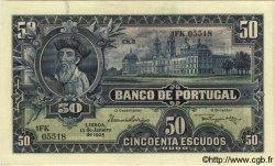 50 Escudos PORTUGAL  1925 P.136 TTB+ à SUP