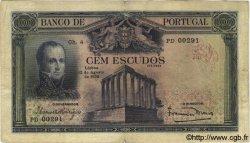 100 Escudos PORTUGAL  1930 P.140 TB