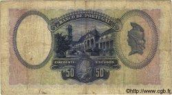 50 Escudos PORTUGAL  1929 P.144 B+ à TB