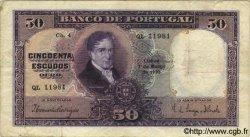 50 Escudos PORTUGAL  1933 P.144 TB+