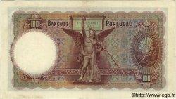 100 Escudos PORTUGAL  1941 P.150var. SUP
